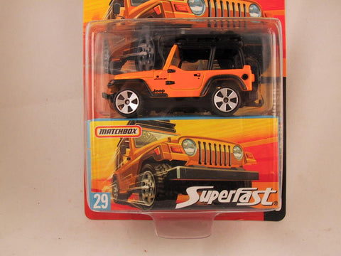 Matchbox Superfast 2006-2007, #29 Jeep Wrangler