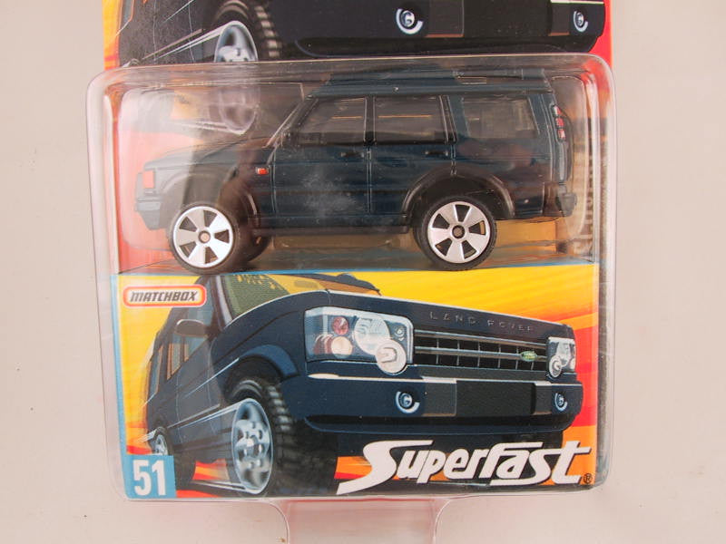Matchbox Superfast 2006-2007, #51 Land Rover Discovery