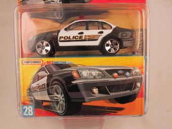 Matchbox Superfast 2006-2007, #28 Ford Falcon