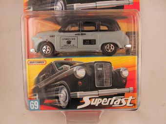 Matchbox Superfast 2006-2007, #69 London Taxi