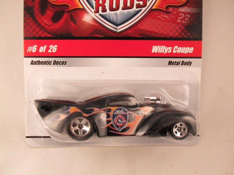 Hot Wheels Fire Rods, #06 Willys Coupe
