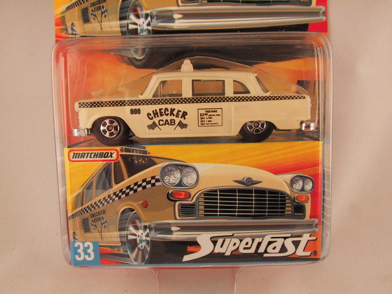Matchbox Superfast 2006-2007, #33 Checker Cab