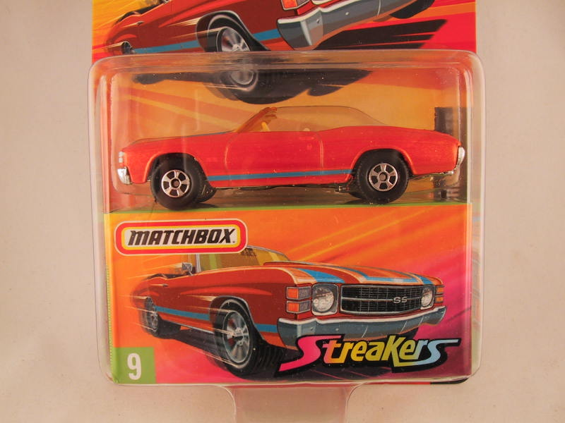 Matchbox Superfast 2006-2007, #09 1971 Chevrolet Chevelle SS Streakers