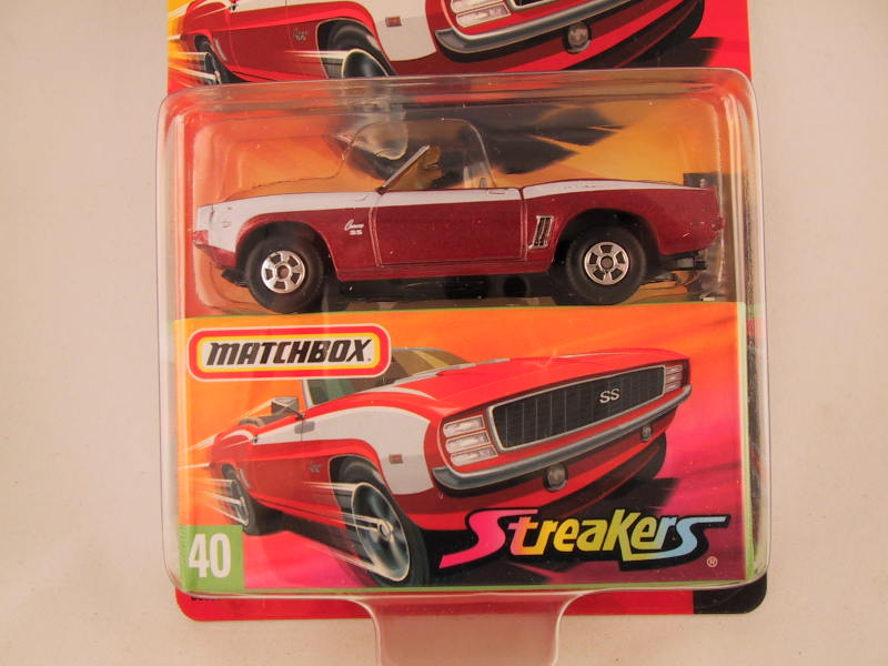 Matchbox Superfast 2006-2007, #40 Chevrolet Camaro SS
