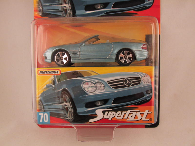 Matchbox Superfast 2006-2007, #70 Mercedes-Benz SL55 AMG