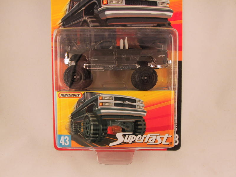 Matchbox Superfast 2006-2007, #43 Chevy K-1500 Pick-up