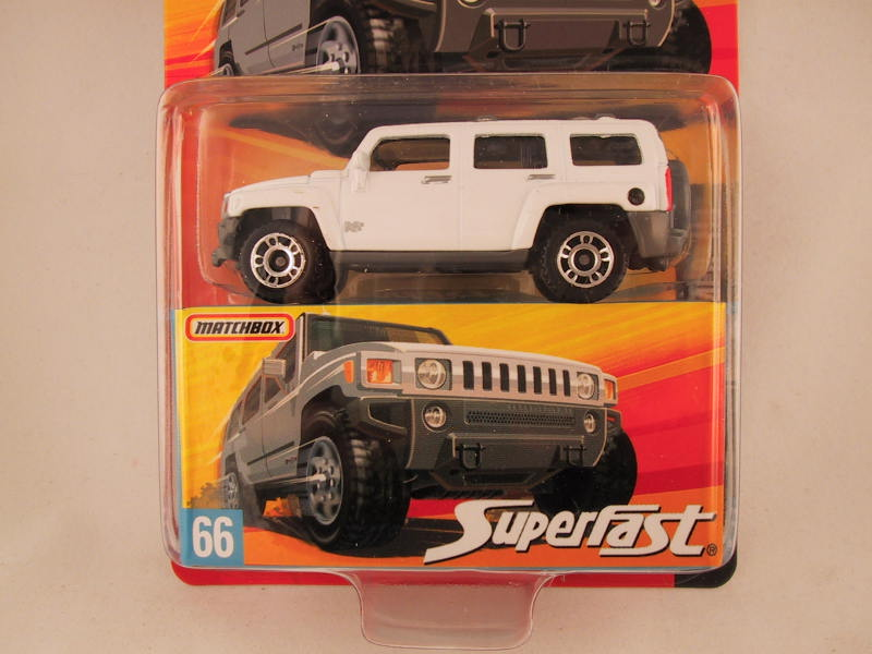 Matchbox Superfast 2006-2007, #66 Hummer H3