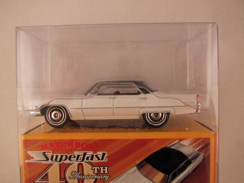 Matchbox Superfast 40th Anniversary, #04 '69 Cadillac Sedan DeVille
