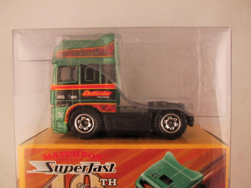Matchbox Superfast 40th Anniversary, #05 DAF XF Space Cab