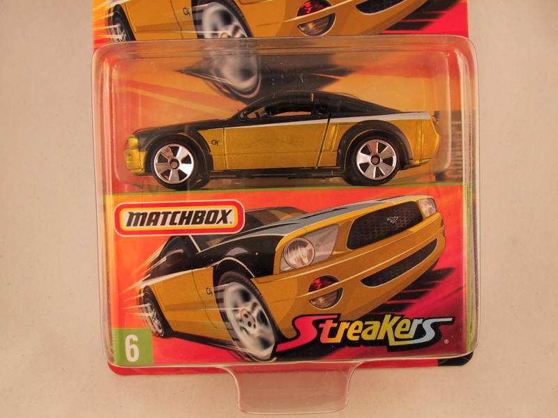 Matchbox Superfast 2006-2007, #06 Ford Mustang GT Concept Streakers