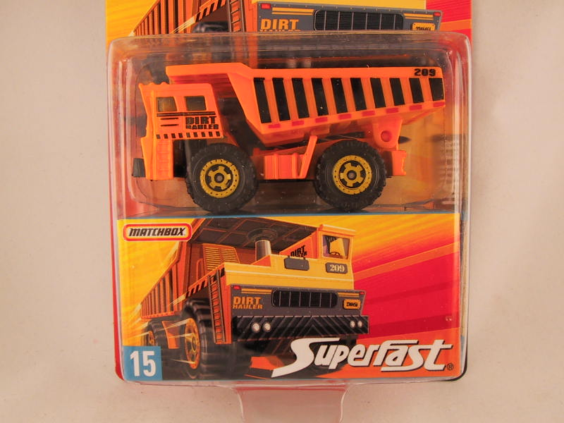 Matchbox Superfast 2006-2007, #15 Dirt Hauler