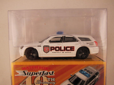 Matchbox Superfast 40th Anniversary, #07 Dodge Magnum Police