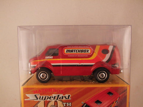 Matchbox Superfast 40th Anniversary, #09 '77 Chevy Van
