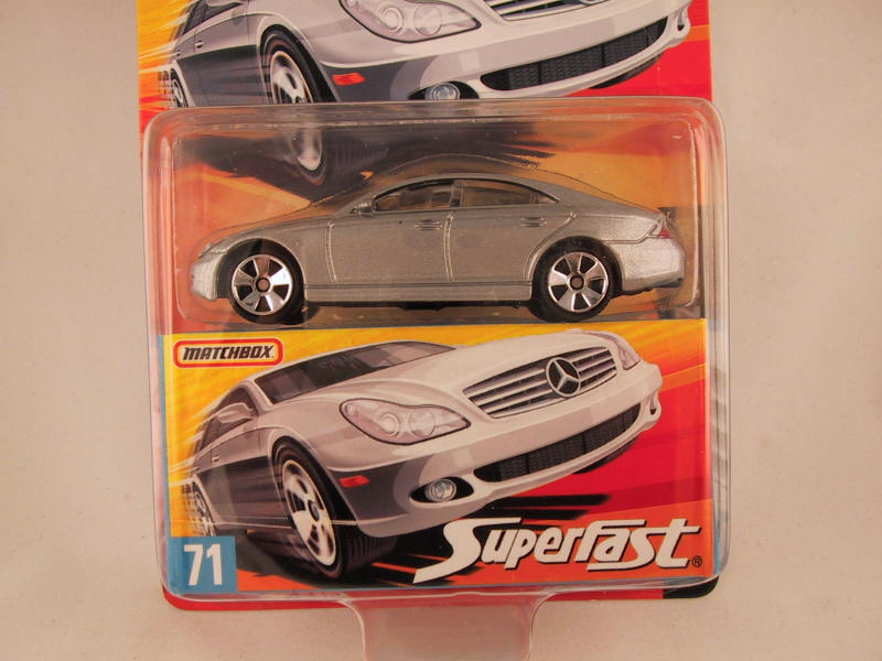 Matchbox Superfast 2006-2007, #71 Mercedes-Benz CLS 500