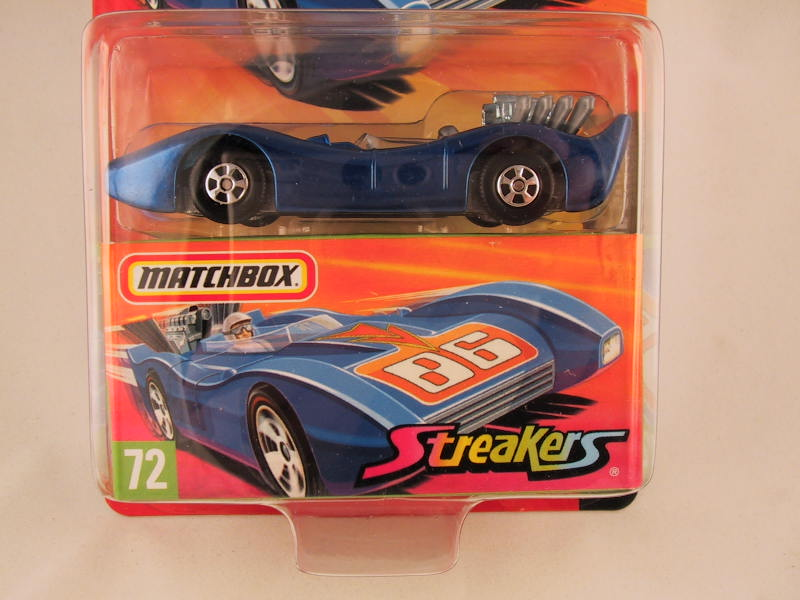 Matchbox Superfast 2006-2007, #72 Blue Shark Streakers
