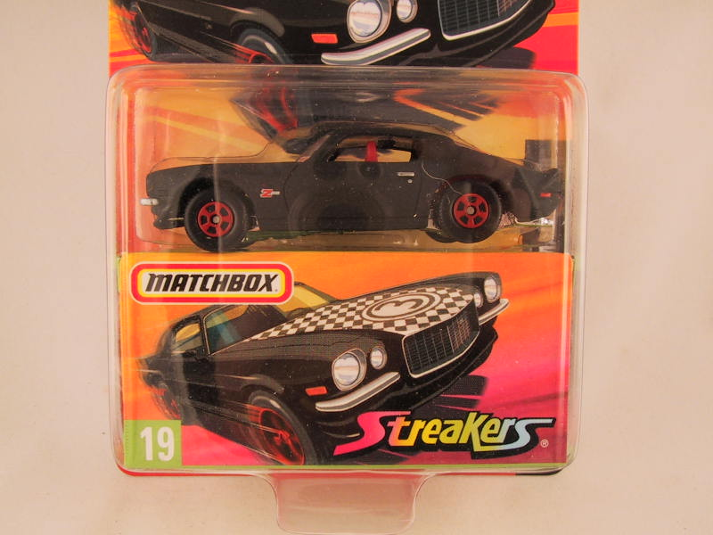 Matchbox Superfast 2006-2007, #19 Chevrolet Camaro Z-28 Streakers