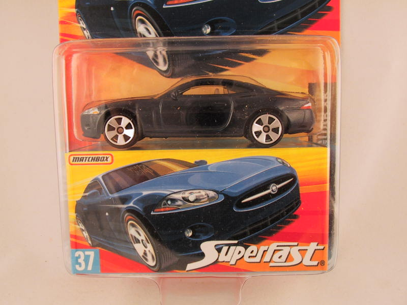 Matchbox Superfast 2006-2007, #37 Jaguar XK