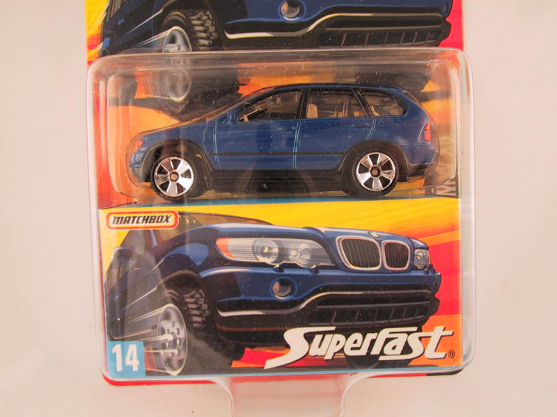 Matchbox Superfast 2006-2007, #14 BMW X5