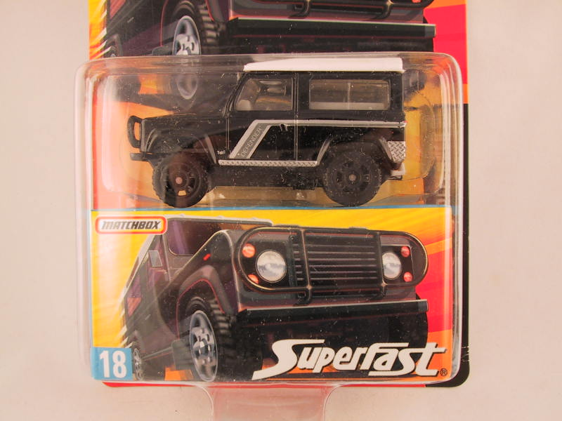 Matchbox Superfast 2006-2007, #18 Land Rover Defender 90