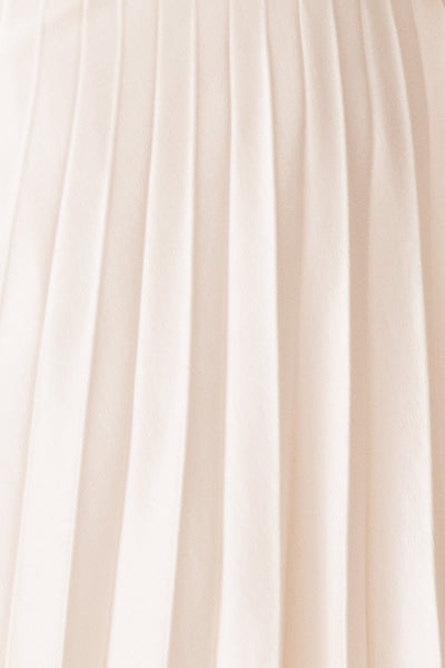 PIPER PLEATED MIDI SKIRT