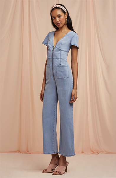 CLAUDIA DENIM JUMPSUIT
