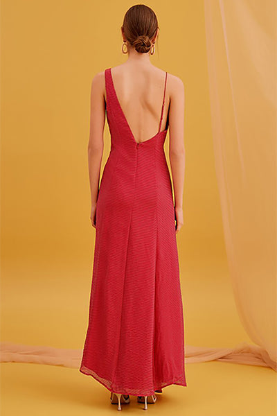 BOUNDARIES GOWN (M)- NUDE REUSE