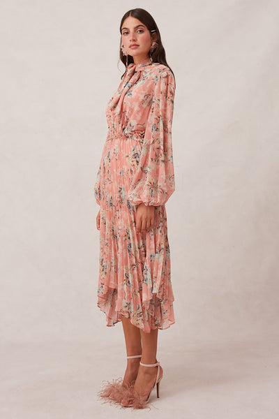 UNRAVEL LONG SLEEVE DRESS (L) - NUDEREUSE