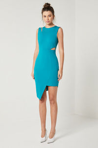 SANCTUARY DRESS (M)- NUDE REUSE