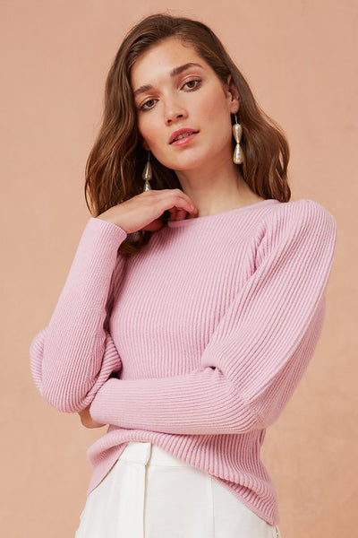 CHEERFUL KNIT TOP