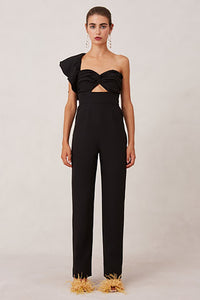 DELIGHT JUMPSUIT (S) - NUDE REUSE