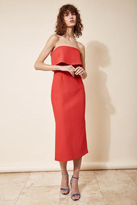 INFINITE STRAPLESS DRESS (M) - NUDEREUSE