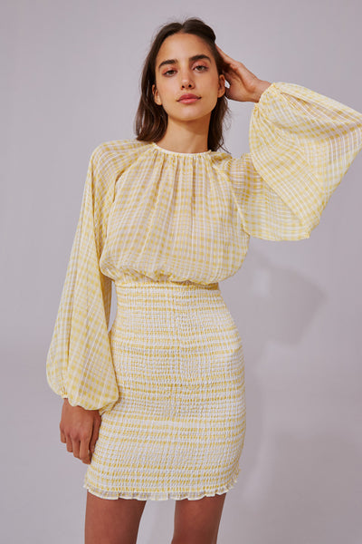 STEALING SUNSHINE LS DRESS