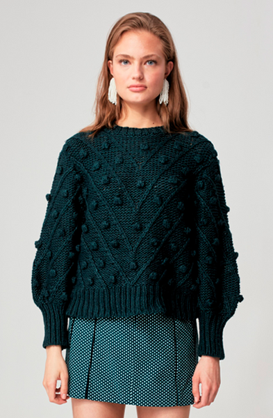 TRADE PLACES KNIT SWEATER