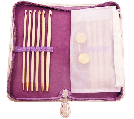 TULIP CarryT Interchangeable Tunisian Crochet Hook Set