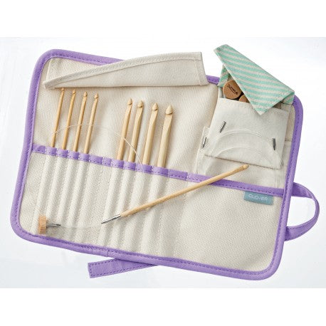 Clover TAKUMI Tunisian Interchangeable Crochet Hook Set