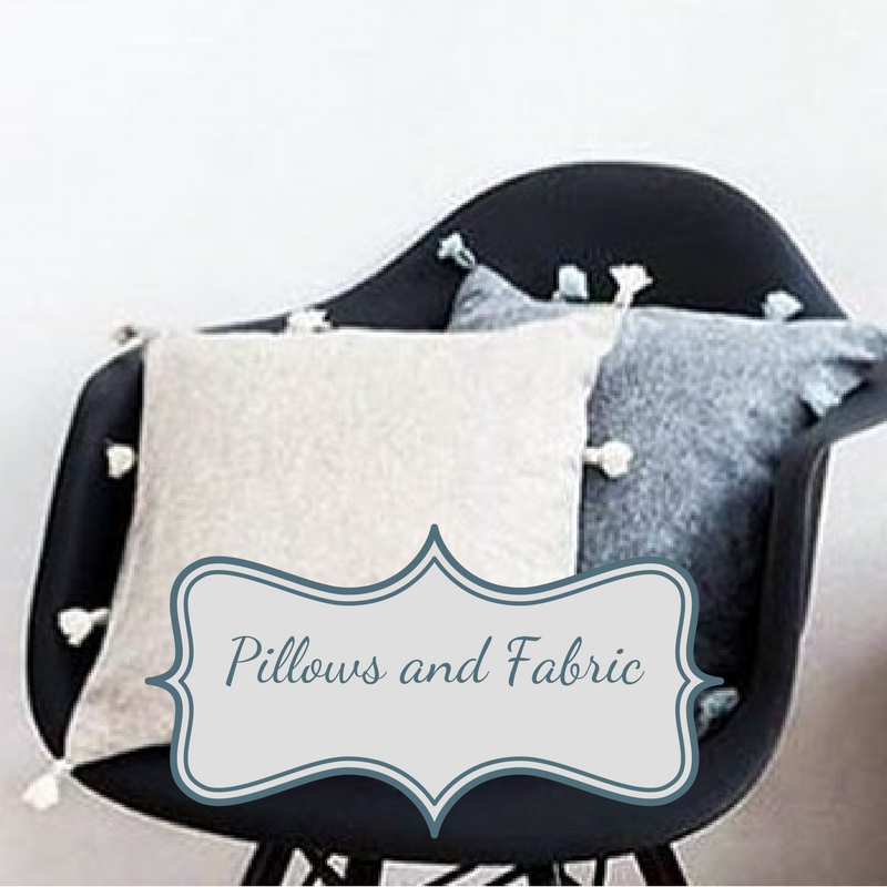 Pillows and Fabric