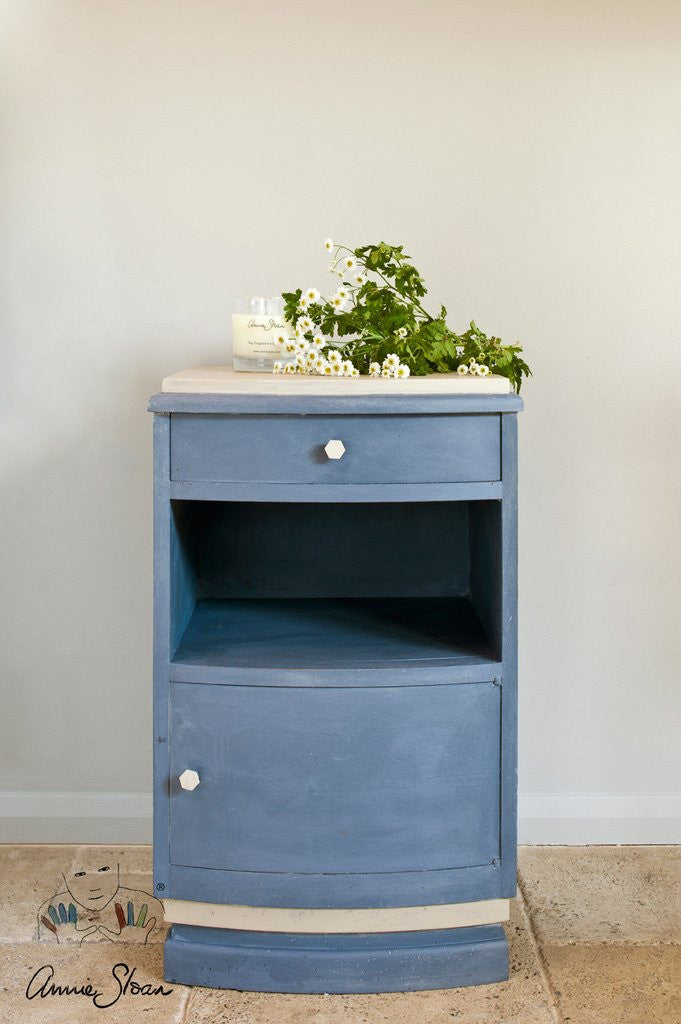 Annie Sloan Old Violet Chalk Paint Nightstand