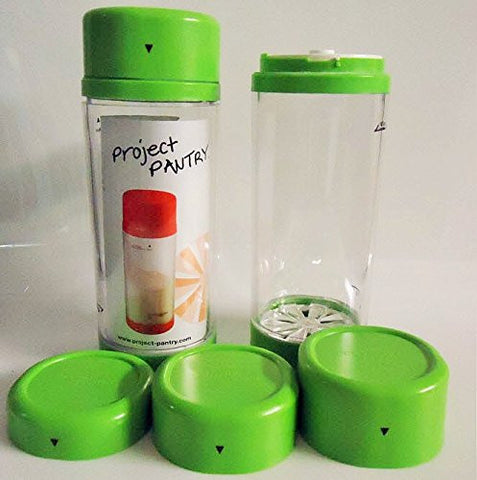Project Pantry Canisters-Green