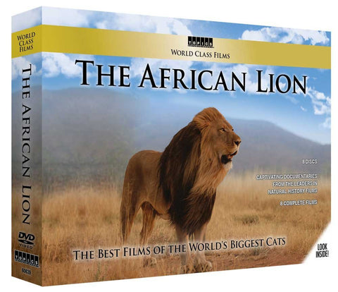 World Class Films - The African Lion 8 DVD Boxed Set