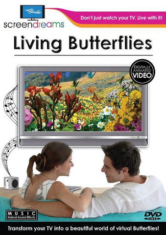 Screen Dreams Living Butterflies - DVD