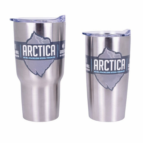 ARCTICA Lot of Vacuum- Insulated 20 Oz and 30 Oz. Tumblers - Variety of Colors- Great Price!