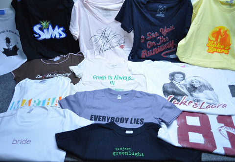 Lot of 100 T-shirts