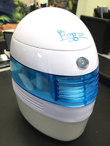 The Egg Portable Personal Humidifier Aromatherapy & Air Purifier USB and Battery Powered