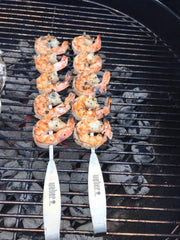 Bootleg Outlaw Surf & Turf Shrimp Skewers