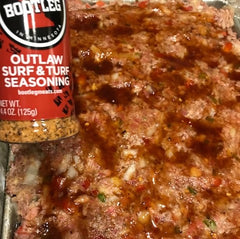 BOOTLEG Outlaw Smoked Meatloaf