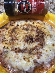 Bootleg Prohibition Pig Rub BBQ Pizza