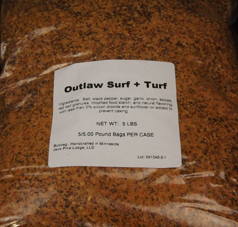 Outlaw Surf & Turf 5 LB Bag