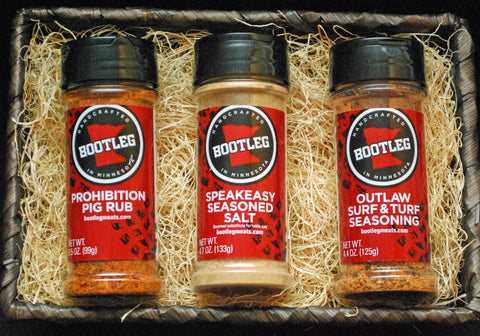 BOOTLEG Brown Smuggler's Spice Basket - 3 pack