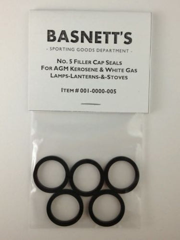 No. 5 Cap Seals for American Gas Machine Lanterns and Stoves