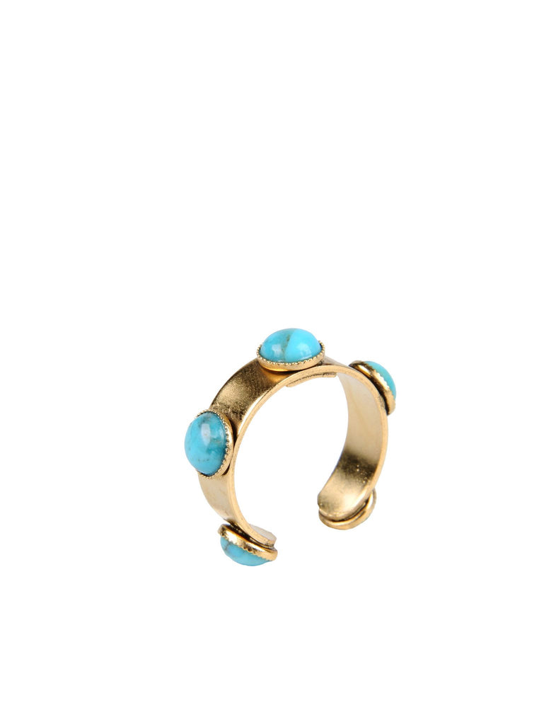 ANA M BAGUE TURQUOISE